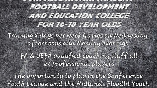 Full Time Football Programme Trials