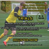 Full Time Football Education Academy Trials