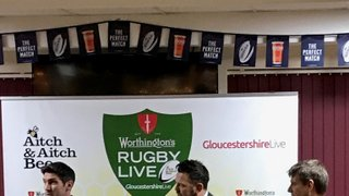 Worthington's Rugby Live 7th March 2018