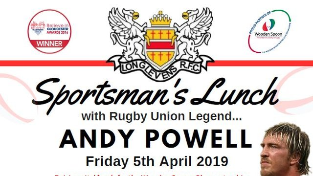 Lunch with Andy Powell and Greek on the Docks Food - Just £35!