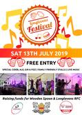 LONGLEVENS FESTIVAL 2019 - Sat 13th July