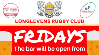 Longlevens RFC Now Open 3pm on Fridays!
