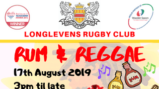 Rum and Reggae Festival: Sat 17th August