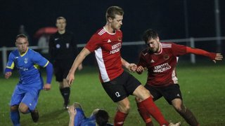 Knaresborough Town 1:8 Barnoldswick Town - West Riding County Cup Quarter-Final - 18-12-2018 - Attd - 57