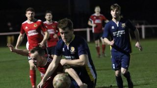 Knaresborough Town 1:2 Bridlington Town - Toolstation NCEL Premier Division - 29-12-2018 - Attd 267