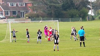 Hard Earned Three Points For Ladies Against A Battling Harlow Side