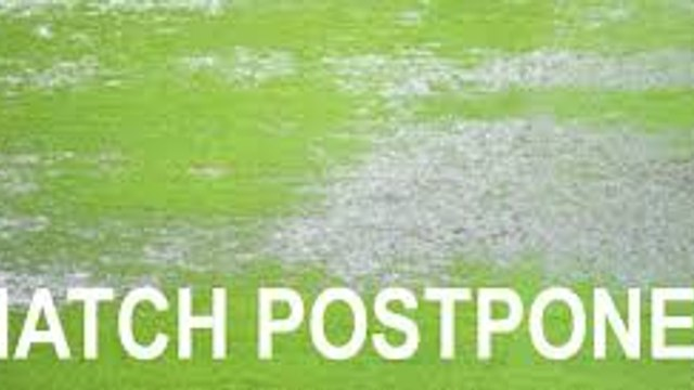 First Team Game Postponed