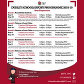 Dudley Schools Rugby - Boys Programme