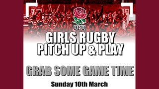 Girls Rugby Pitch Up & Play