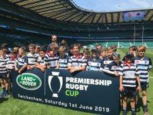 Stourbridge Under 12s at the Premiership Final