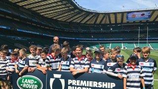 Under 12s at Premiership Final