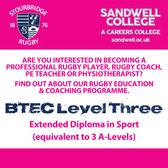 Stourbridge/Sandwell Post-16 Rugby Academy