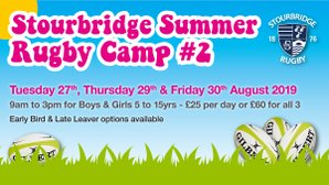 Summer Rugby Camp Week 2 Day 1