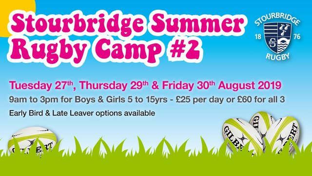 Summer & Autumn Rugby Camps