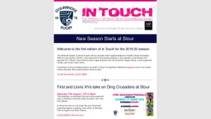 In Touch - Official Weekly E-News