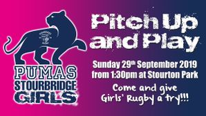 Girls' Rugby Pitch Up & Play