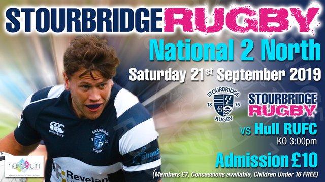 Stourbridge vs Hull RUFC