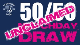 Unclaimed 50/50 Draw