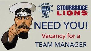 Stourbridge Lions Need You!