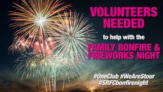 Bonfire Night Volunteers Needed