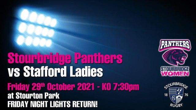 Stourbridge Panthers vs Stafford Ladies