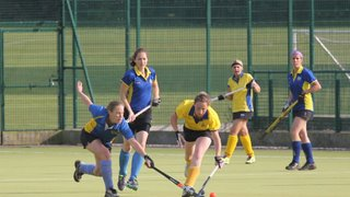 Ladies 1s vs 2s