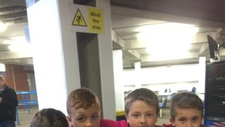 Under 10s pics from Elland Road!