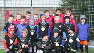 Under 7's and Development Squad training morning