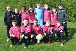 U11 Pinks make the short trip to Churwell Lions