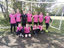 Under 10's travel to Seacroft to play their first 9 a side match