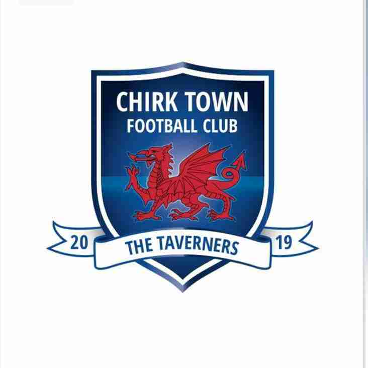 Chirk Town hit six of the best to remain clear top