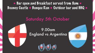 Come & Watch The Rugby World Cup Live at Marlow Rugby Club this Weekend