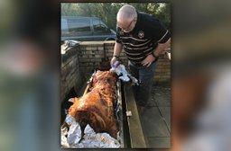 Riverside Takeaway - Pig Roast This Saturday