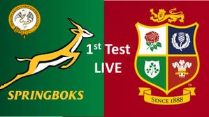 British & Irish Lions 1st Test vs South Africa