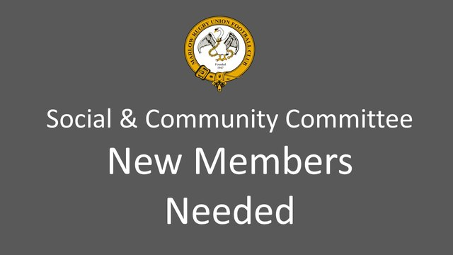Social & Community Committee Needs Your Help