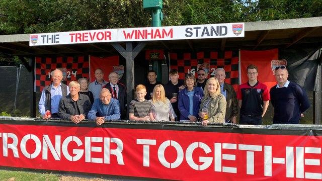 The Trevor Winham Stand