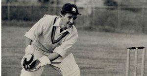 Roy Swetman: Ashes wicket-keeper