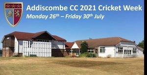 Cricket Week: July 26th - 30th