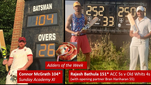 Rajesh Bathula & Connor McGrath: Joint 'Adders of the Week'