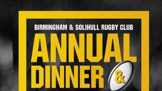 Reminder - book your place at the club dinner NOW!