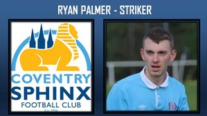 Striker Ryan Palmer joins up with Sphinx