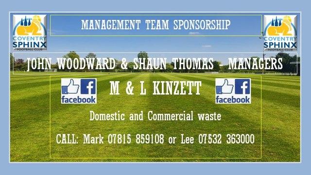 Introducing new sponsors M & L Kinzett