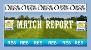 Match report FA Cup Preliminary Round