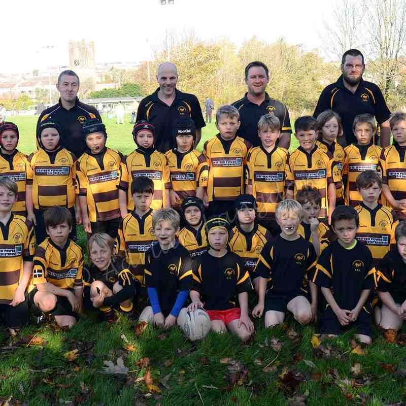 Camels Under 9's in action. 1.11.2015