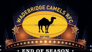 Wadebridge Camels Awards night Friday 3rd May at 7:30 pm.