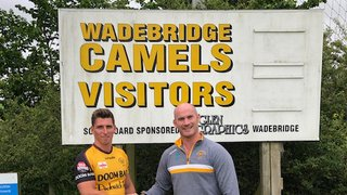 Camels welcome first new signing for the coming season