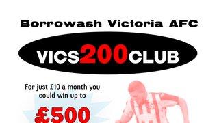 Vics 200 Club Launched