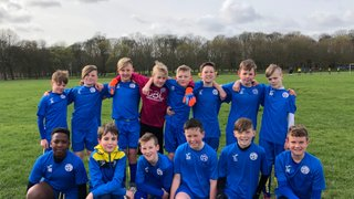 U12's Whites reach final of Selby League Cup