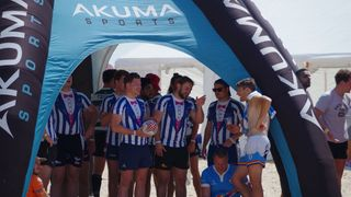 OHs in British Beach Rugby Tournament May 2018