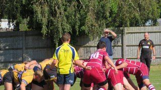 2nds go down swinging to Old Caterhamians in a great fight!
